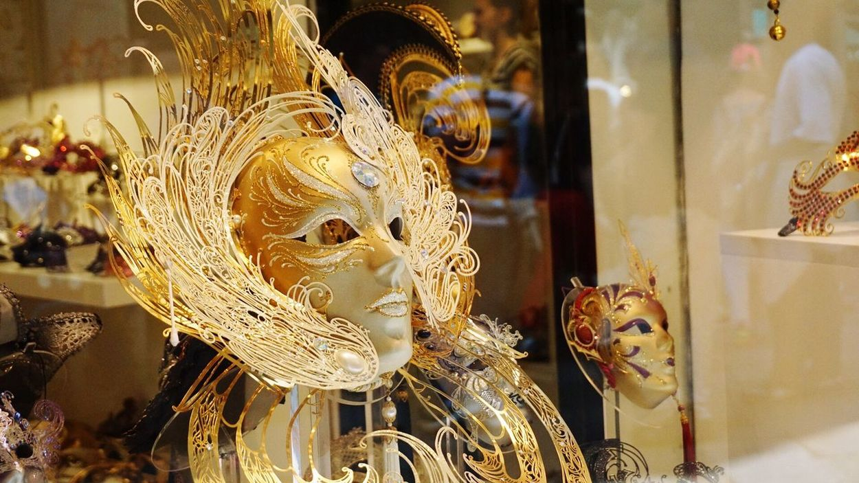 Golden Mask Masquerademasks Beautiful Made In Italy Fine Art Photography