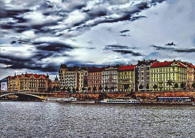 Tourists Historical Sights Hello World Czech Republic