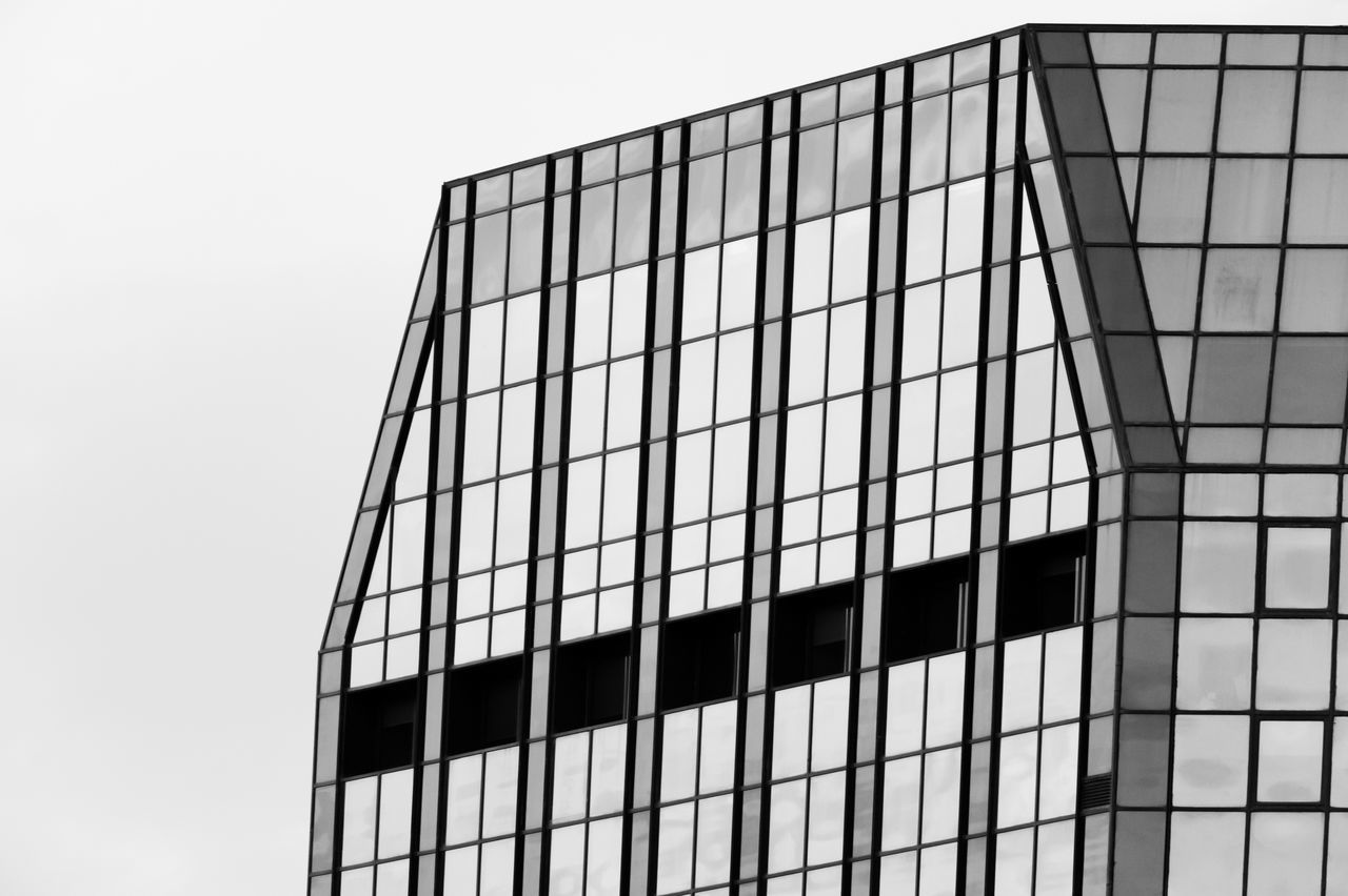 Abstract Skyscraper Frame Filling Face Low Angle View Architecture No People Modern Outdoors Blackandwhite Black And White Monochrome Noir Et Blanc Skyscraper Skyline Day Istanbul Full Frame Abstract Abstract Photography City Urban Geometry Urban Skyline Sky The City Light