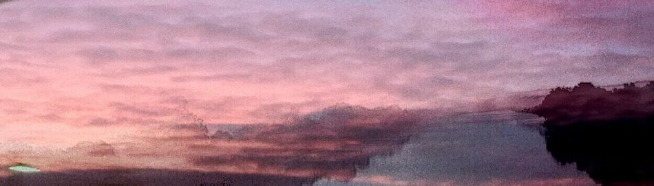Dark Pink By Motorola The James River Dressed In Sunset