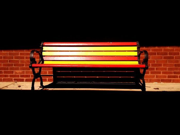 waiting in vain Bench Train Station Mood Captures Loneliness Colours Findings Rule Of Thirds The Rule Of Thirds
