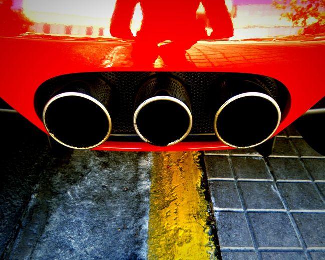 Ferrari Ferrariworld Italy Showcase: December Lifestyle Shiny Reflection PaintJob Exhaust Pipes Chrome Grill Supercar Supercars 458