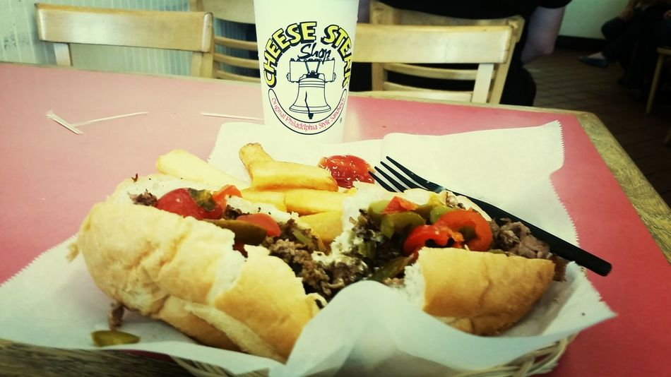 Philly Cheese Steak Love EatingLunch Time!