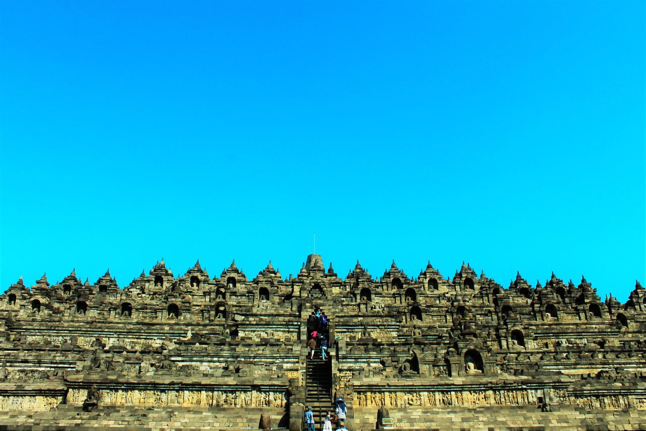 TakeoverContrast Blue Clear Sky Stone Material Leisure Activity Travel Destinations Tourism Famous Place My Favorite Place