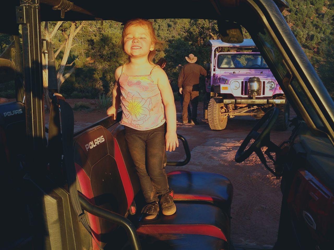 KIOMI COLLECTION PRINCESS PRETTY.AWESOME IN SEDONA. ARIZONA 4x4 MILES OF SMILES FREEWHEELIN' LOVE U ALL