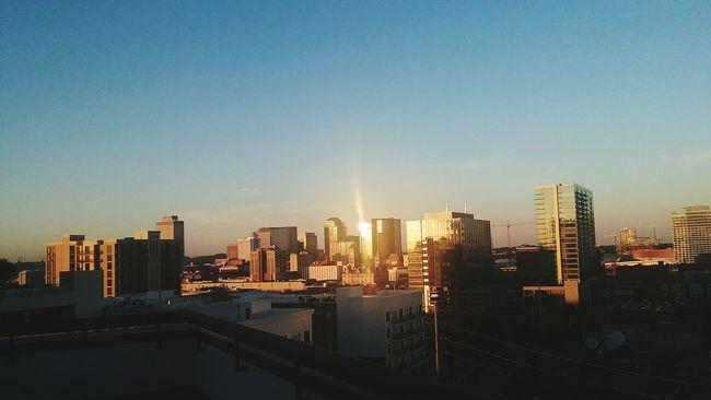 This is Music City Nashville Music City Sunset Cityscapes City City Life Landscape Urban Urbanphotography