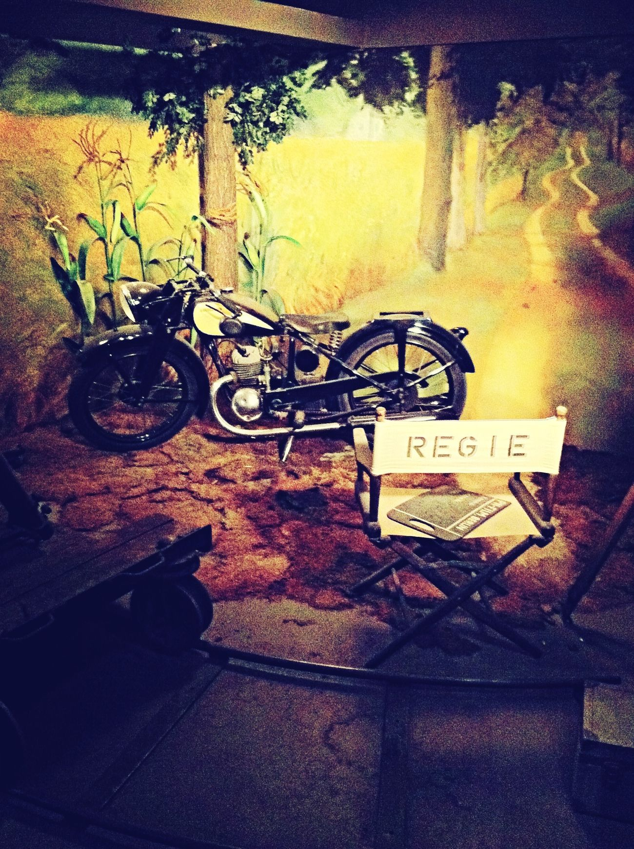 Visiting Museum And Action! Movie Set History Of Cameras