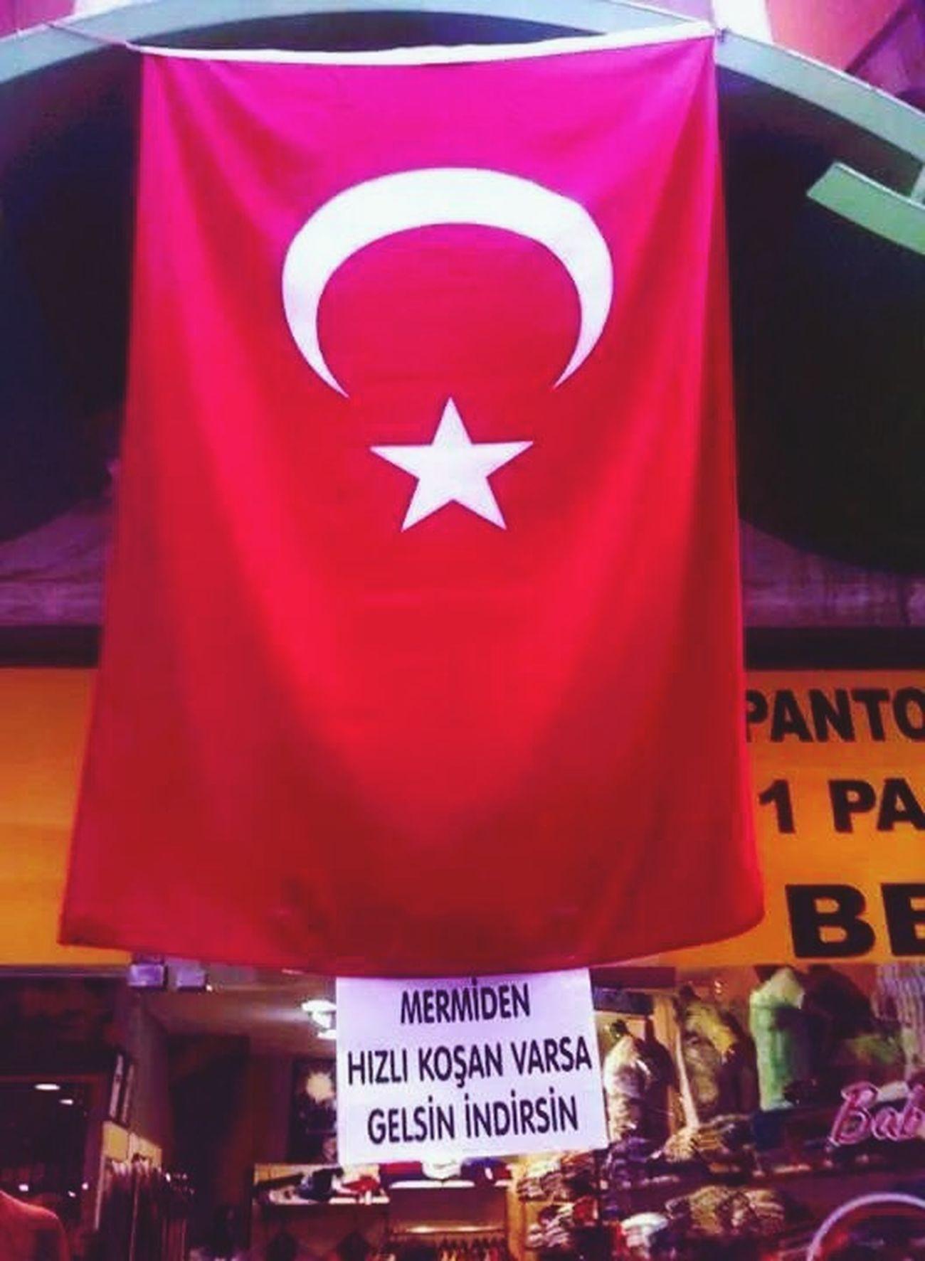 Bayrak Türkiye Istanbul Turkey