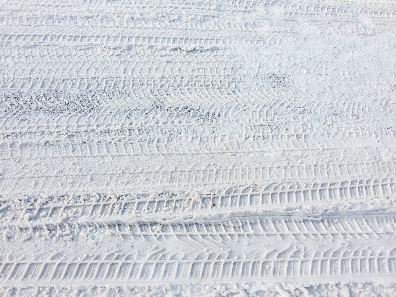 Tracks in the Snow Wintertime Winter Snow Snowy Surface Cold Outside Nature White Traces In The Snow Tracks In Snow Traces Tracks Cold Temperature Covered
