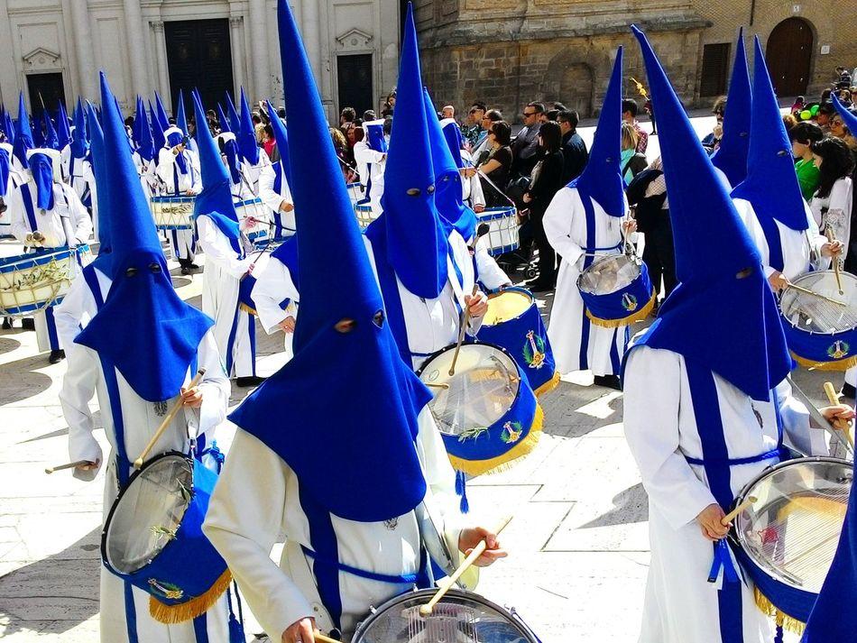 Semana Santa en Zaragoza Zgz SPAIN Procesiones Capirotes Nazarenos