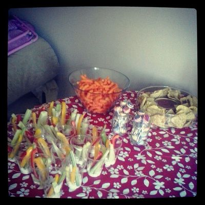 Almost time. Housewarming Party Fingerfood