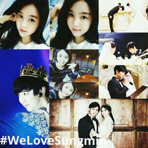 Sungmin Kim Saeun Super Junior WeLoveSungmin
