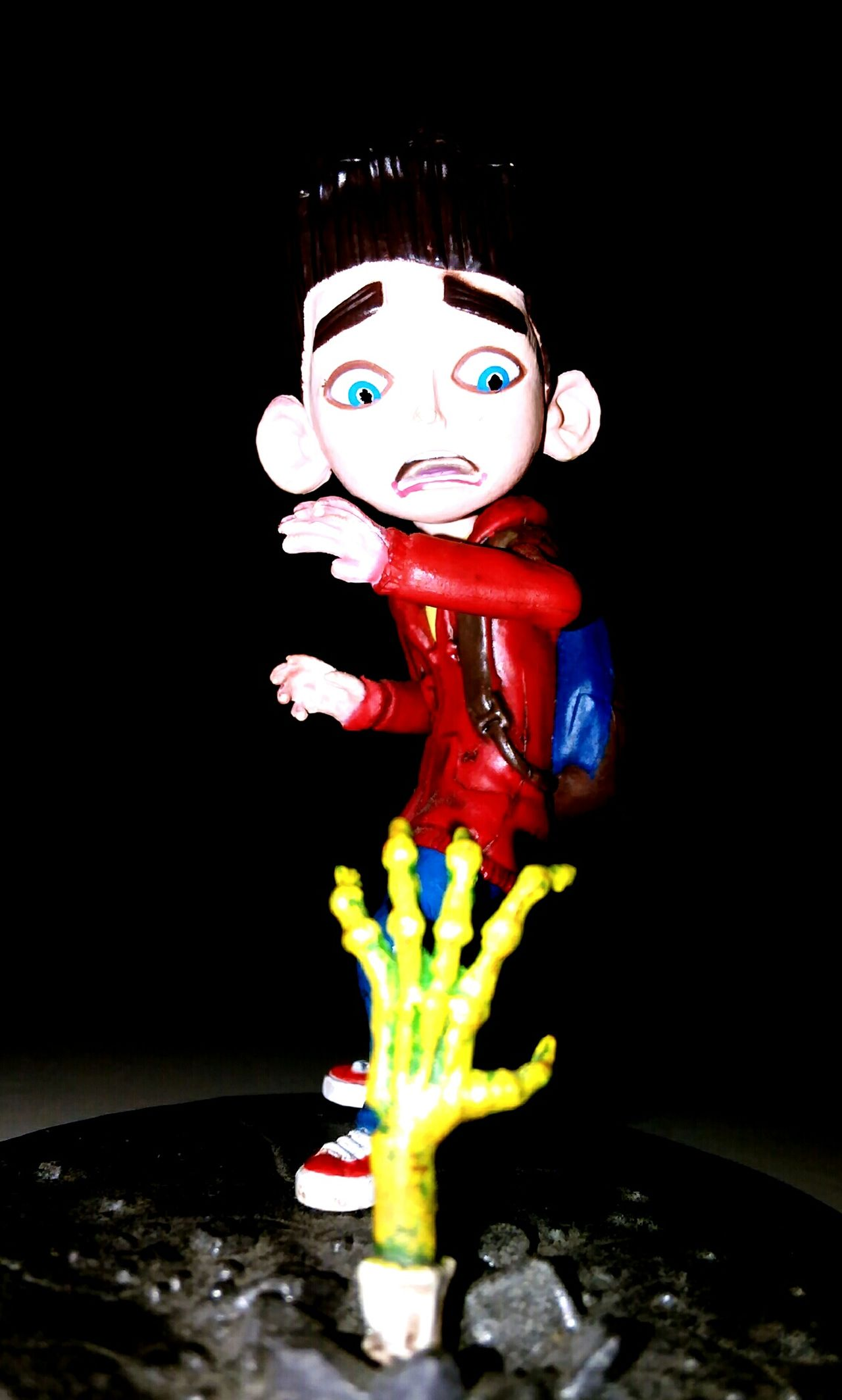 Multi Colored Figurine  Disguise Childhood Anthropomorphic Close-up Face Guard - Sport Paranorman Beauty Zombie Amazing Studio Photography Indoors  Boy Figurine  One Person Sculpture Human Face Looking At Camera Young Adult Single Object Nightphotography Greenhand Nornan Indoors  Uniqueness