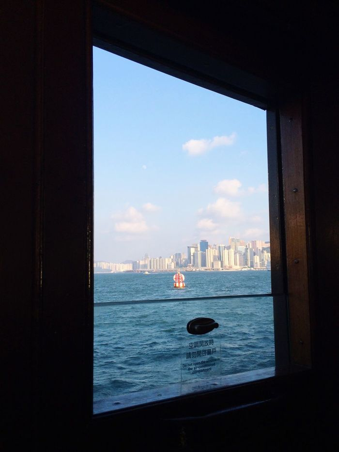 Sea Water Architecture Nautical Vessel Sky Built Structure Transportation Day No People City Building Exterior On The Way On Board Boat On Boat Look Through The Window Looking Out Of The Window Looking Out My Year My View