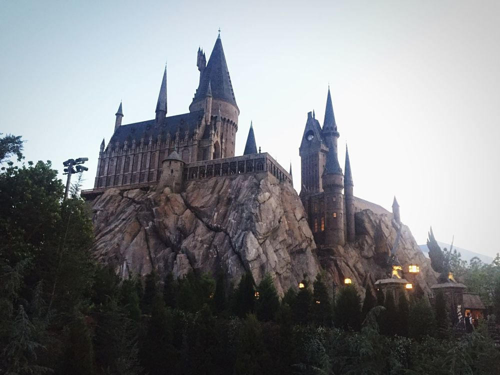 Harrypotter Universal Studios  Architecture Outdoors Castle Day