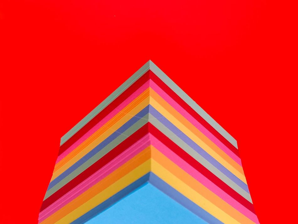 Beautiful stock photos of grafiken, Abstract, In A Row, Multi Colored, No People