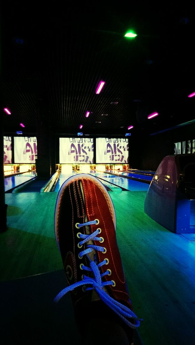 Bowling time! Shoes Great Atmosphere Bowling Shoes Bowlingalley