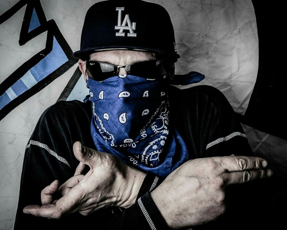 Studio Photography Fantasy Photography Portrait Crips American Gangsta  Gangstar Canon5Dmk3 Bowens Lighting Selfportrait Lightroom Mobile