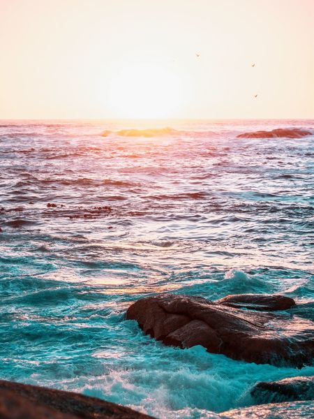 Sunset Sea Beauty In Nature Scenics Landscape Dramatic Sky Awe Sunlight Sun Beach Nature Travel Destinations Outdoors Tourism Wave EyeEmNewHere Tranquility Freshness Water Nature Vacations Sand Travel Horizon Over Water Sunny