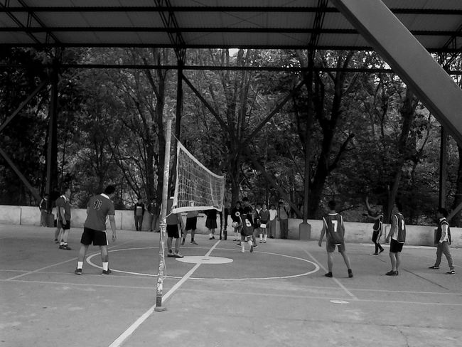 Untold Stories Of The Volleyball Relaxing Taking Photos Enjoying Life Beautiful Day Sunday In The School