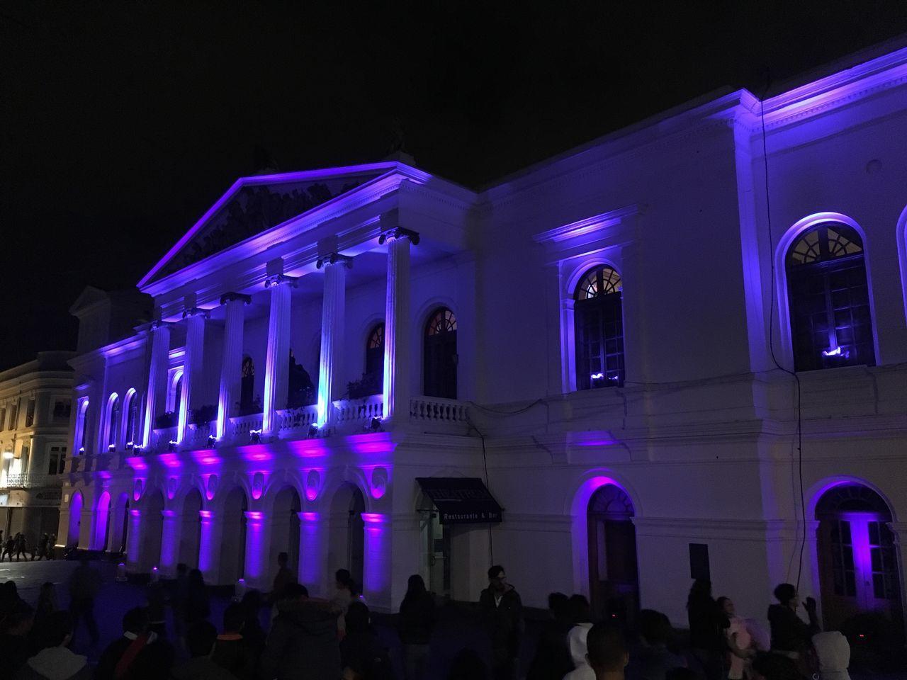 Quito Ecuador Habitat III Teatro
