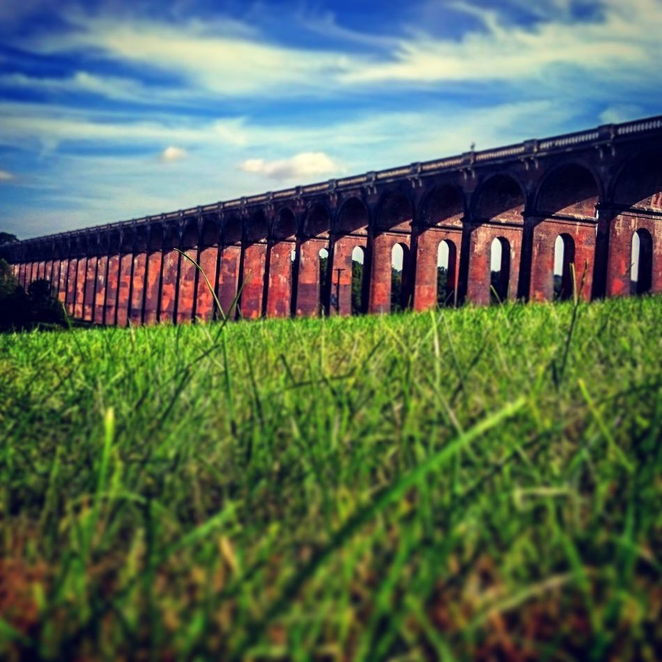 Sky No People Cloud - Sky Built Structure Architecture Outdoors Nature Rural Scene Day Grass Landscape Agriculture Beauty In Nature Balcombe Viaduct Summer2015 Uk England