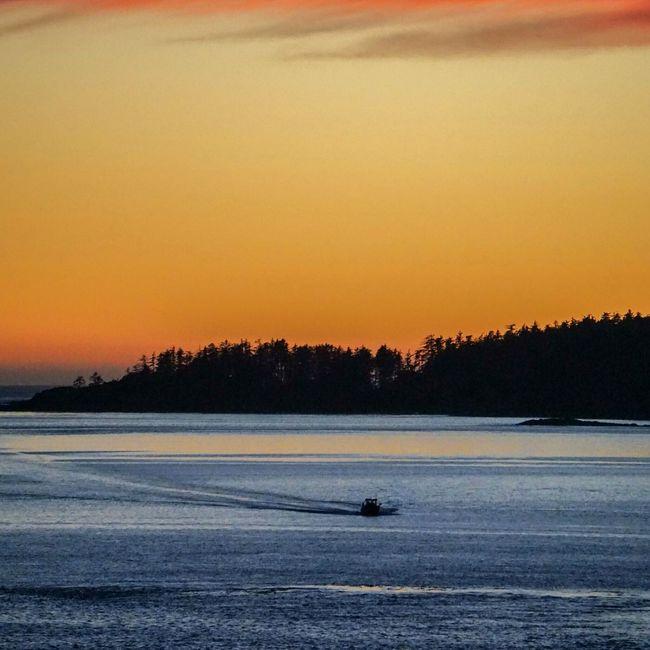 Sunset Canada Tofino Vancouver Island Canada
