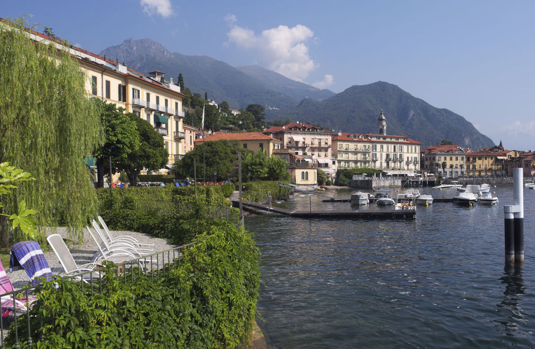 Menaggio, Lake Como, Italy Como Lake Day Italy Lake Como Lakeshore Lakeside Menaggio No People Scenics Town Travel Destinations Water Waterfront