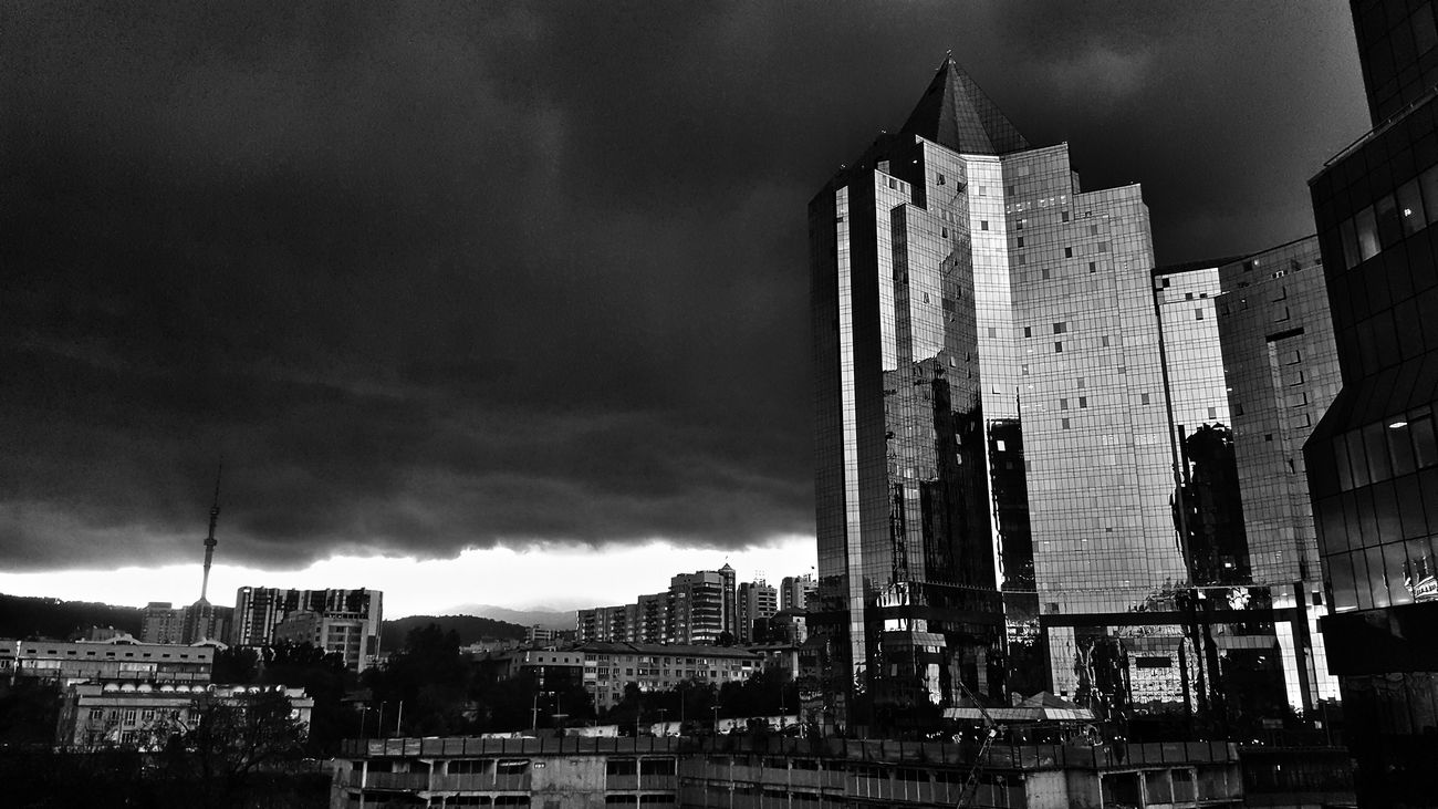 Blackandwhite Almaty Last Day