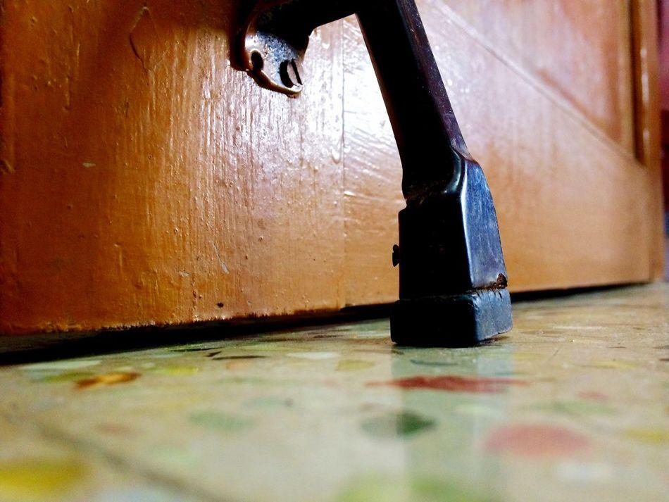 Indoors  No People Day Close-up Door Lock STAND Grip Locker