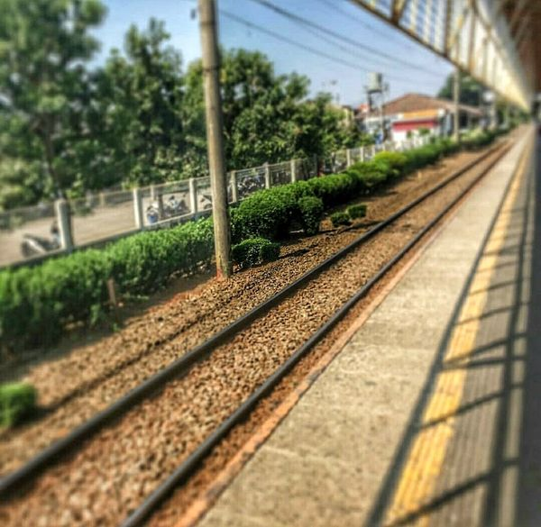 Somewhere Landscape_photography Taking Pictures Enjoying Life Train Station train Justclick Taken From Smartphone Camera Thats Me ♥