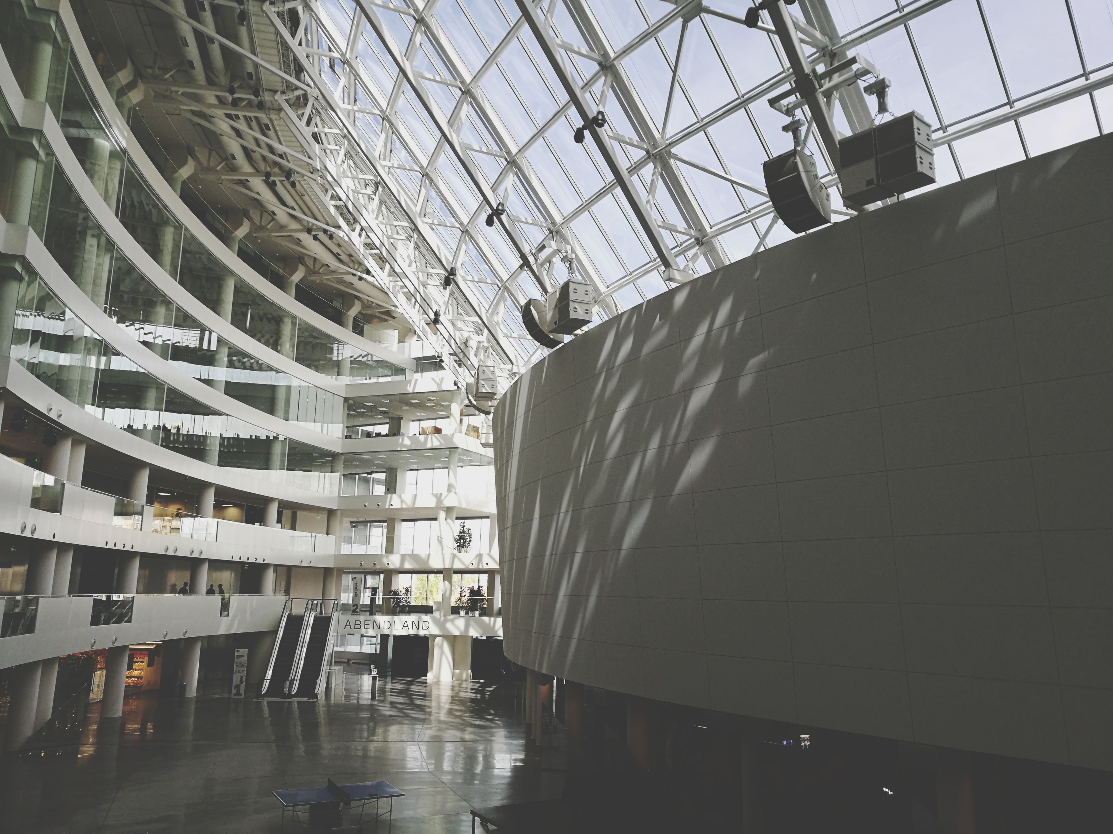 indoors, architecture, modern, day, no people