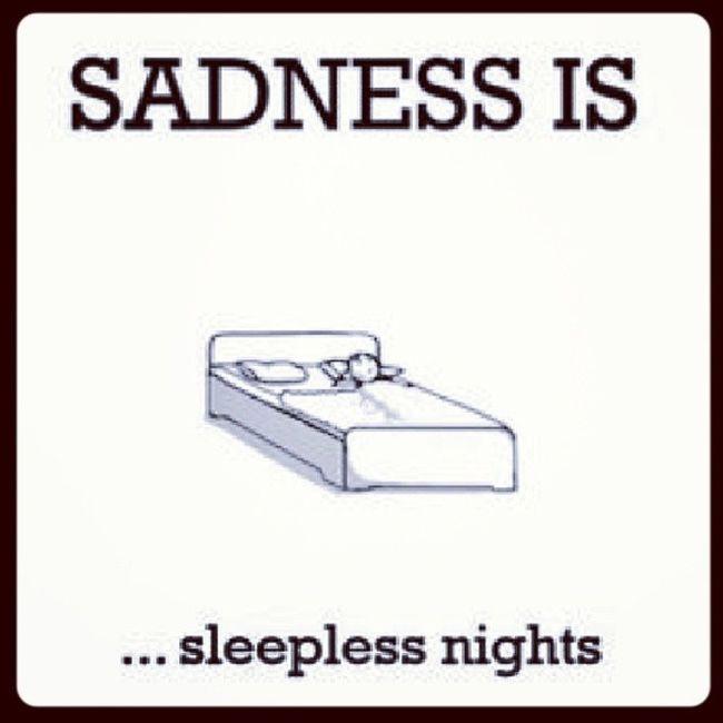CannotSleep WantToSleep Sad
