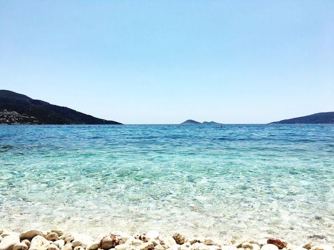 Kalkan Antalya Turkey Sea Blue Beach
