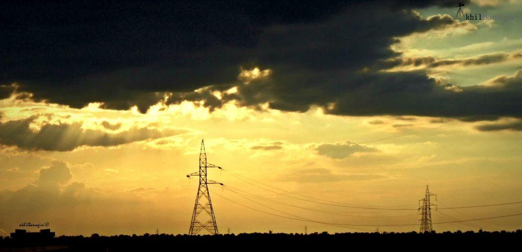 Sunset Sunset Silhouettes Sunset_collection Sunset #sun #clouds #skylovers #sky #nature #beautifulinnature #naturalbeauty #photography #landscape EyeEm Best Shots - Sunsets + Sunrise Sunset Silhouette