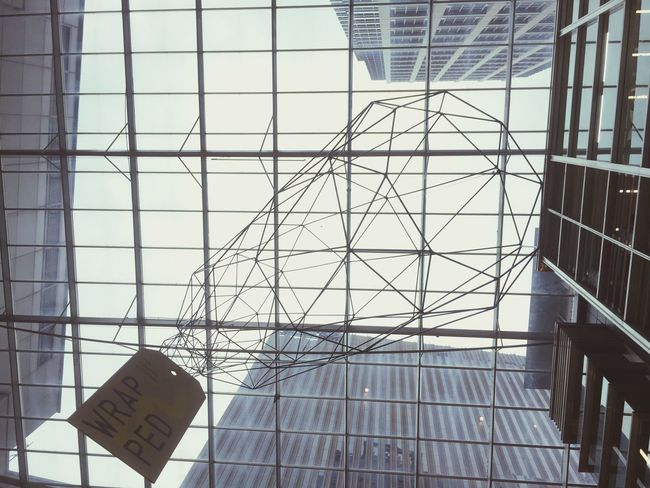 Lookingup | Wrapped | Sculpture | Architecture