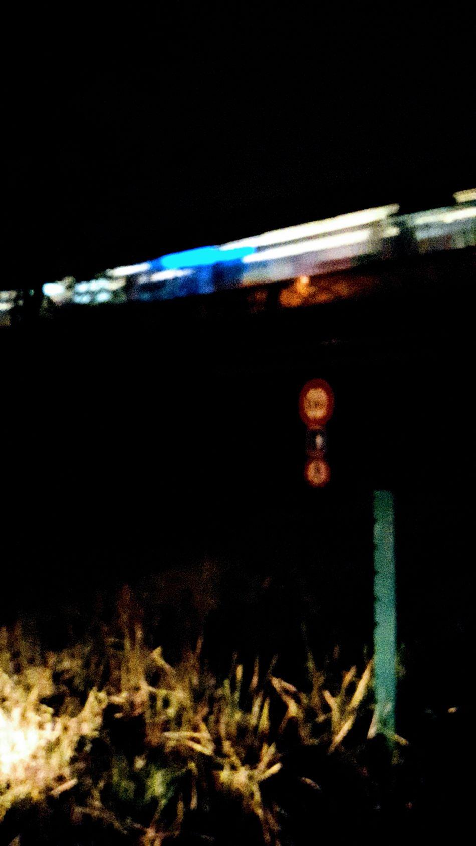 Night Nightphotography Night Lights Light And Darkness  Cars Lights Light On The Ground Train Train On The Bridge Train Lights Road Signal Eyemphotography Eye4photography  EyeEm Gallery