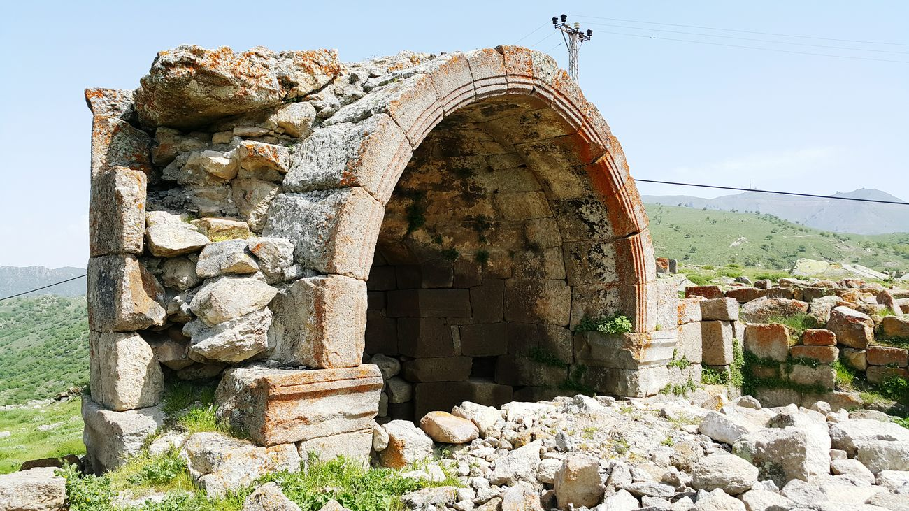 Church Değle ören Yeri Ancient City Ancient KARADAĞ