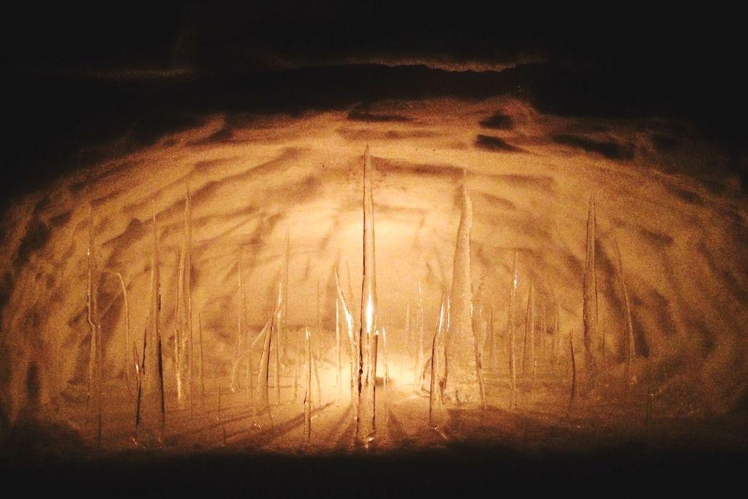 Icicles Winter Art YUZAWA Beautiful Universe Snow Candle