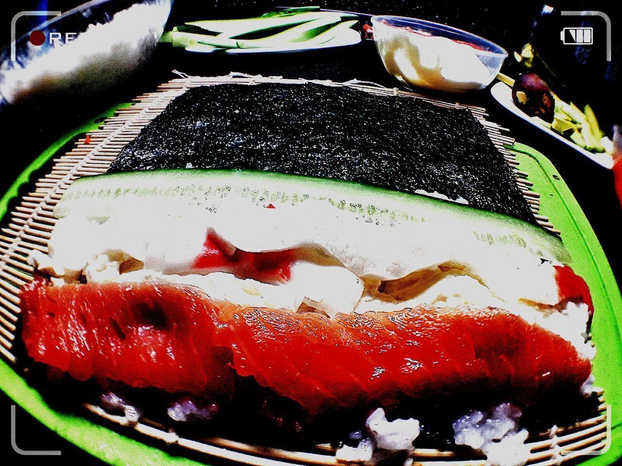 Day Sushi Time Sushi Love Sushihomemade No People Food Colors Handmade Enjoying Life MyLove❤