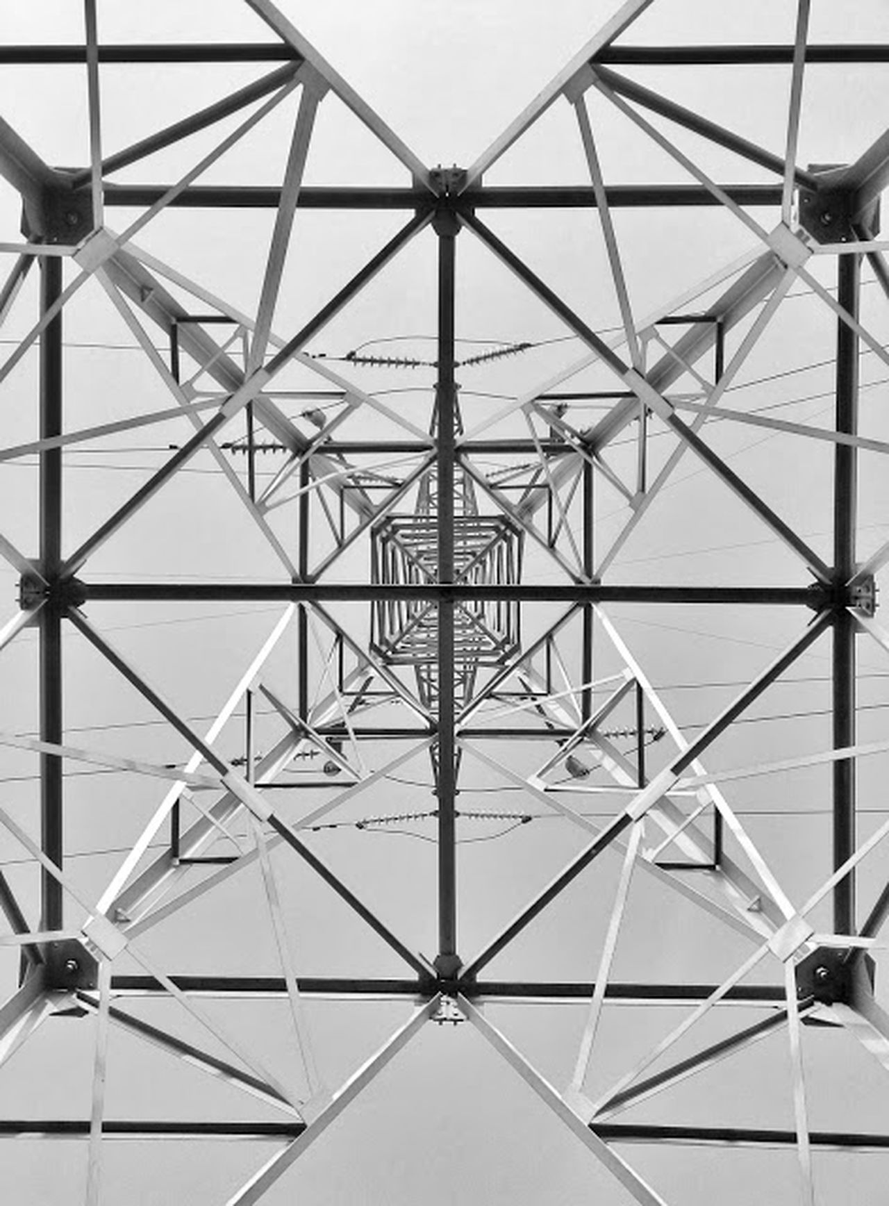 Dassai Architecture Backgrounds Built Structure Close-up Day Electricity  Full Frame Girder Indoors  Low Angle View No People Pattern Sky Steel Symmetry Technology