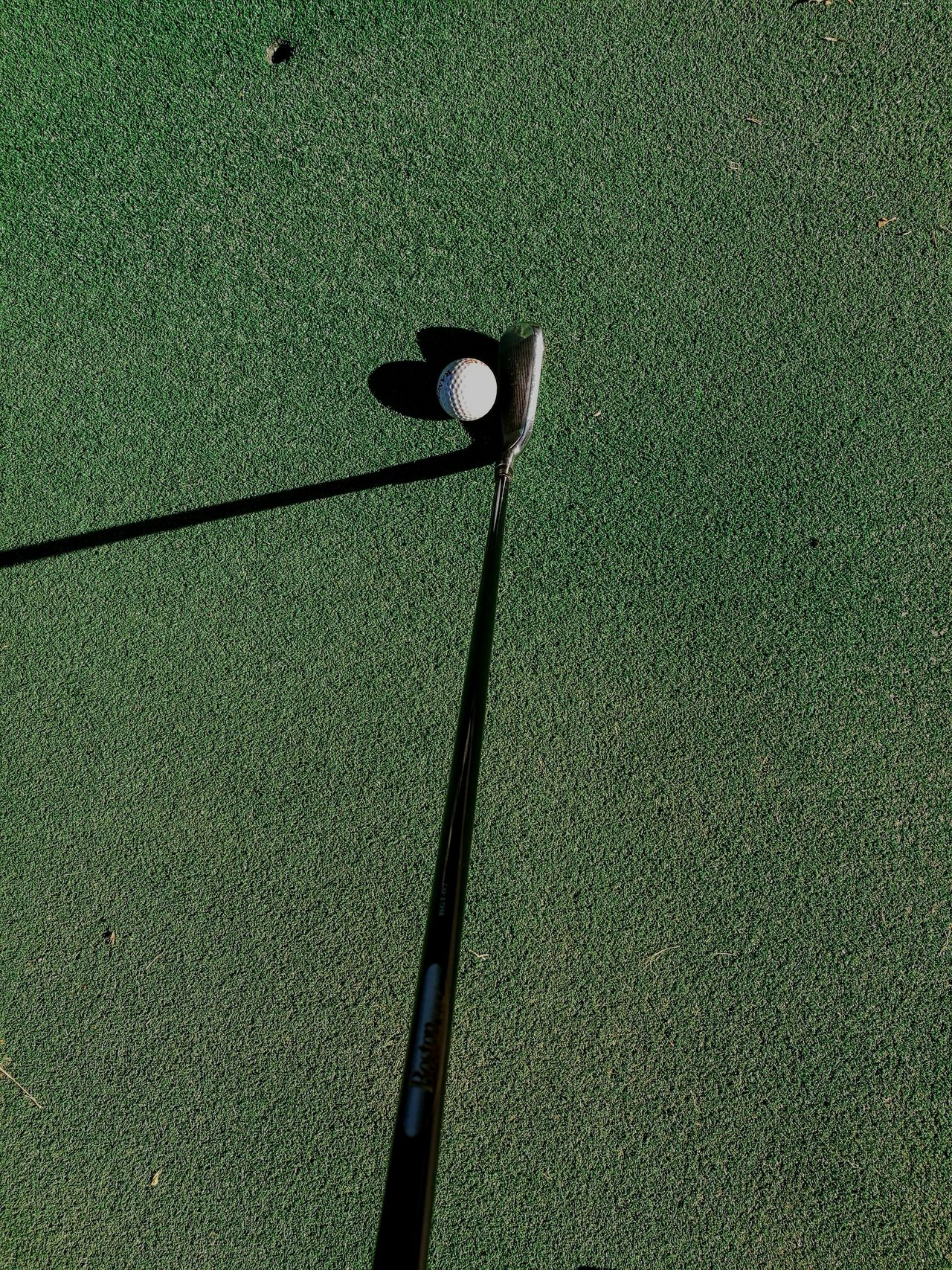 Green Color Green - Golf Course Golf Course Outdoors Iron 7