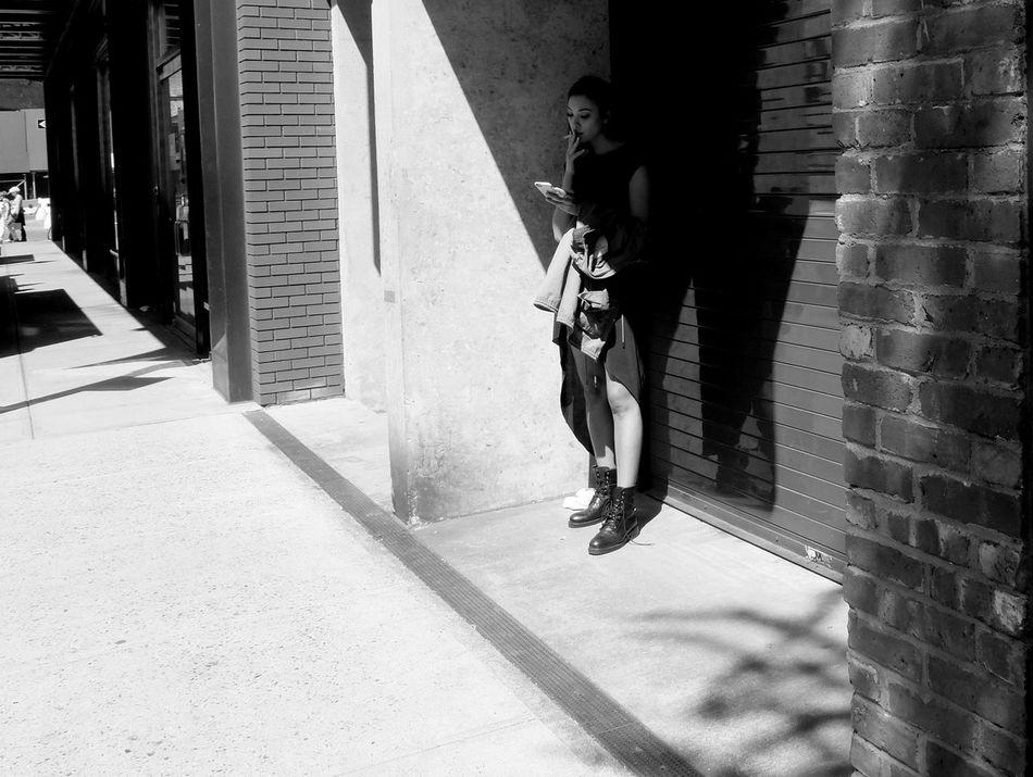 • in the corner • Streetphoto_bw Street Photography Bw Newyork