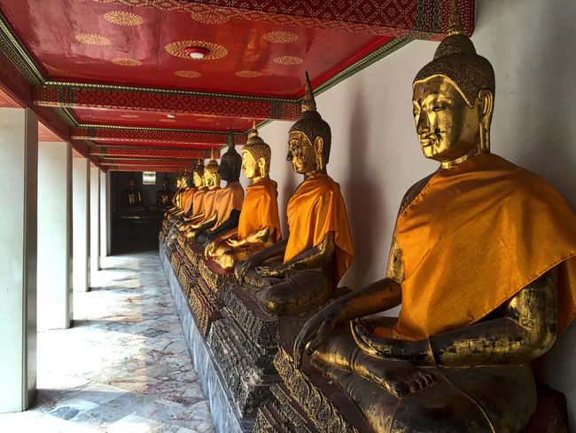 Buddha Famous Place No People Religion Sculpture Spirituality Statue Temple Temple - Building