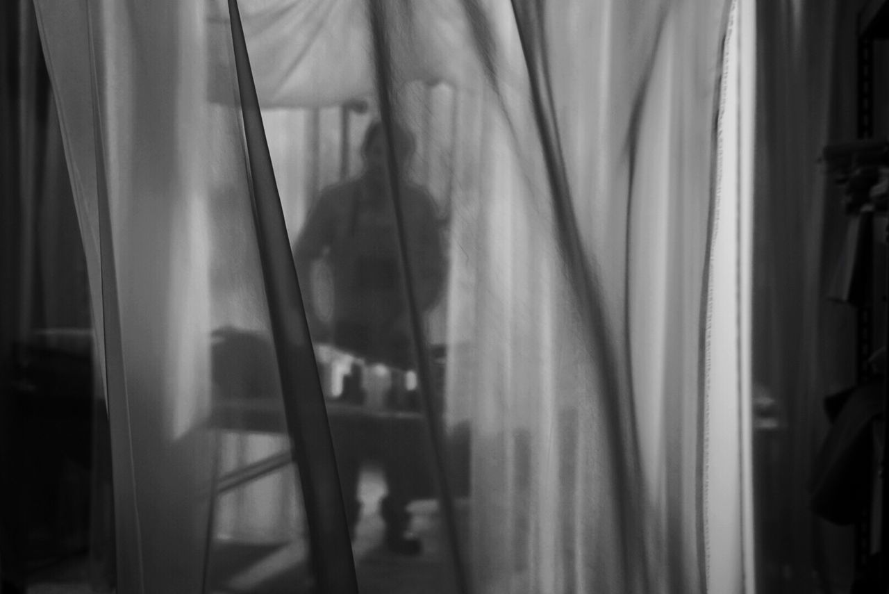 curtain, drapes, window, indoors, close-up, no people, day