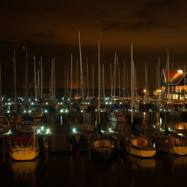 Volendam Boats Fishing Fishing Boat Netherlands Lights View View From The Window... Learn & Shoot: After Dark Photography Josienvangeffen
