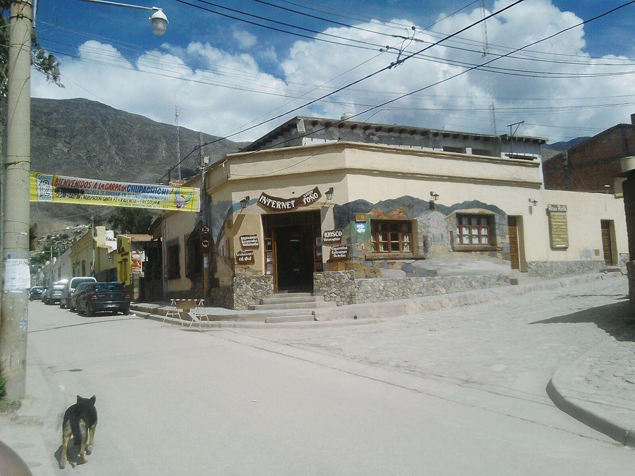Street Tilcara Argentina