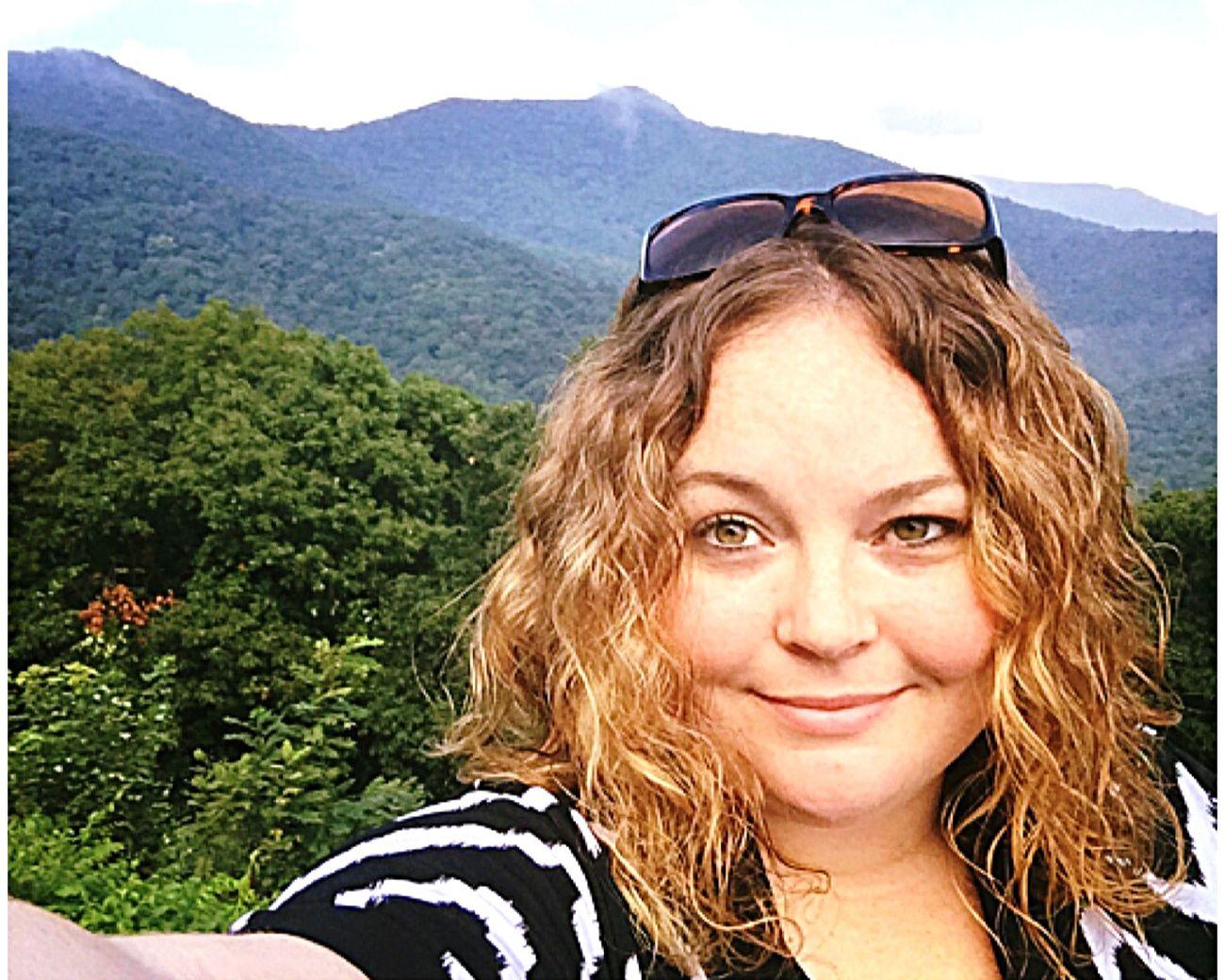 North Carolina Mountain View Mount Mitchell Selfportrait That's Me Hello World Beautiful EyeEm Best Shots Enjoying Life Hiking