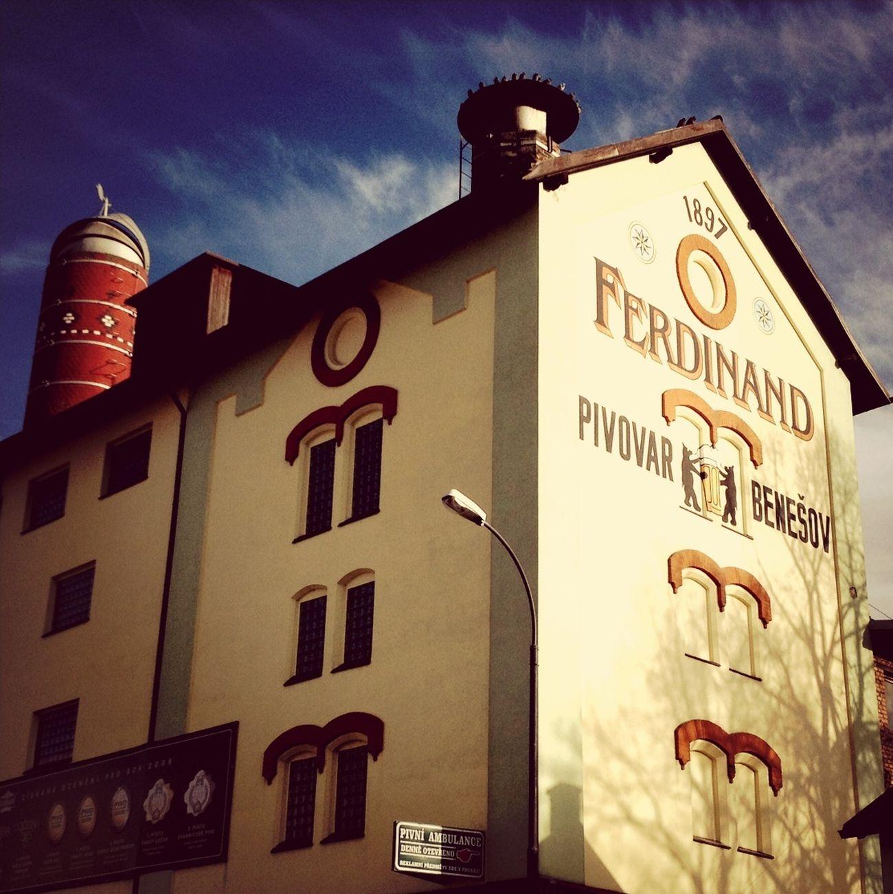 Brewery Ferdinand Beer Czech Beer