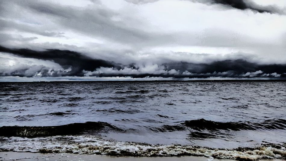 Stormy Skies. PhotographybyTripp Smartphone Photography Phoneography Samsung Galaxy Note 5 Camera360Ultimate Pixlr Beastgrip Pro Stormy Skies Clouds And Sky Cloud_collection Sky Eyeem Clouds And Sky EyeEm Best Shots Eyeem Beach Storm On The Horizon Check This Out Unique Beauty Unique Style Creative Photography Eyeem Mother Nature Fresh On Eyeem